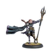 Mercenary Privateer Warcaster Fiona The Black